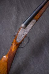 "UNION ARMERA/GRULLA ORVIS CUSTOM Model 215 Sidelock Ejector 12 gauge, 28"" bbls."