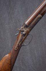 "CHARLES LANCASTER 16 gauge Hammer Gun, 28"" Damascus BNP bbls."