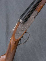 "BROWNING BSS Sidelock 12 gauge, 26"" bbls. Game Scene Engraved"