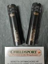 Beretta Optimachoke HP 12 Ga.Black Edition 20 mm. Extended choke tubes.
