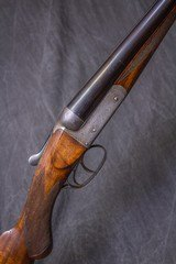 """CHARLES BOSWELL Boxlock Nonejector 12 gauge, 28"""" sleeved bbls."""