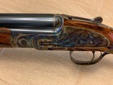 """Purdey sidelock Over-Under 20 gauge, 30"""" Bbls, 2003 and mint, Teage Choke Tubes, Leather Case w/canvas cover - 2 of 15"""