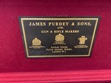 """Purdey sidelock Over-Under 20 gauge, 30"""" Bbls, 2003 and mint, Teage Choke Tubes, Leather Case w/canvas cover - 12 of 15"""