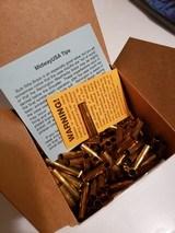 **NEW Box of QTY 100 22 Hornet Remington Brass Unprimed**