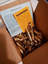 **NEW Box of QTY 100 22-250 Remington Brass Unprimed**