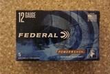 "12 gauge Federal 2 3/4"" 00 Buckshot 1325FPS (25) Shells"