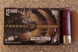 """12 ga Federal Premium Truball 3"""" Rifled Slug 1700 FPS 1oz (25) Shells"""