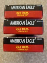 Federal 223 rem 75 Grain FMJ (100) Free Shipping - 2 of 2