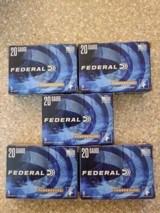 Federal 20 Gauge #3 Buckshot