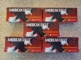 Federal American Eagle 223 rem 50 Grain JHP Brass Cased