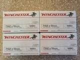 Winchester 308 win 7.62x51 149 Grain FMJ Brass Cased
