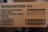 winchester 5.56 55 grain fmj brass cased