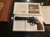 Colt RoyalBlue Python 357