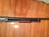 Winchester model 12 16 gauge pump. mfg 1917 - 7 of 11