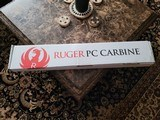 NEW Ruger 9mm PC Carbine with EXTRAS