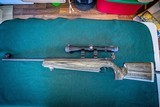 .22 Marlin Model 2000 with Microgroove Rifling's with Williams's Peep match Sites front and back with Bushnell Scope and see thru Weaver Scope