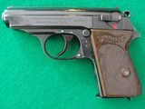 Walther PPk Pre War Crown N Proof .32 acp