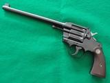"Colt Camp Perry .22LR Target Pistol 10""made 1926 CA OK"