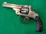S&W .32 Double Action Top Break 4th Model Nickel, Antique, CA OK - 1 of 15