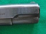Colt 1911 made 1918 Original Finish Blue - 7 of 15