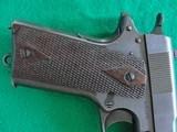 Colt 1911 made 1918 Original Finish Blue - 8 of 15