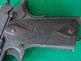 Colt 1911 made 1918 Original Finish Blue - 5 of 15
