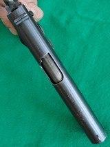 Colt 1911 made 1918 Original Finish Blue - 9 of 15
