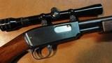 Winchester Model 61 Grooved, Custom Stock, Scoped, Cased,CA OK!