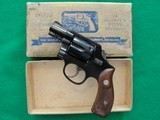 S&W Pre Model 12 38 M&P Airweight from 1953! CA OK!