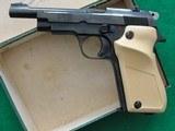 Unique Pyrenees Model D .22 Pistol, JC Higgins Mod 85 Marked, C&R