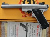 """Ruger MKII Stainless Target .22 5-1/2"""" - 3 of 10"""