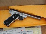 """Ruger MKII Stainless Target .22 5-1/2"""" - 9 of 10"""