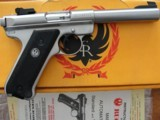 """Ruger MKII Stainless Target .22 5-1/2"""" - 2 of 10"""