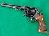 "S&W K22 Masterpiece 22LR 6"" Pre-Model 17 made 1957 CA OK!"