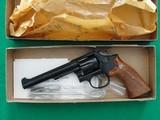 "Smith & Wesson Model 17 S&W 17-4 .22 LR 6"" w/Box, Tools, Super Nice! CA OK!"