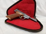 "MINT 1973 Belgium Browning Challenger In Pouch 4.5"" Barrel 22 Long Rifle COLLECTOR QUALITY"