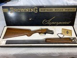 "BOXED 1966 Belgium Browning Superposed 410ga Round Knob Long Tang Full/Modified 26.5"" Barrels - FACTORY ORIGINAL NEAR MINT 98% - 1 of 360 Produced!!!"