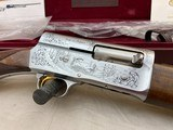 """Belgium Browning A5 Master Hand Engraved 20ga New in Case 26"""" IC"""