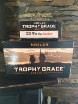 Trophy Grade 308 ammo Nosler Accubond 165gr