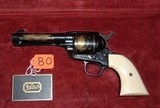 "Colt ""JOHN WAYNE COMMEMORATIVE"" 3rd Generation Single Action Army (SAA) .45 long colt caliber - 1 of 7"