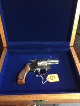 """Smith and Wesson """"VIRGINIA STATE POLICE 55th ANNIVERSARY COMMEMORATIVE"""" Chief's Special Model 60 .38 special caliber"""