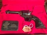 "Colt New Frontier""JOHN WAYNE COMMEMORATIVE"" Revolver .22 long rifle"