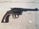 Cold New Army Model 1903 .38 caliber Double Action Revolver