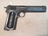 colt model 1902 military automatic .38 acp caliber pistol