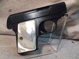 colt vest pocket model 1908 hammerless automatic .25 acp caliber