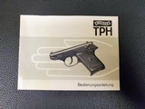 Walther TPH in .22LR, Made in Germany with IC (1982) date code in Like NIB Condition - 7 of 9