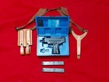 IMI Uzi 45 caliber pistol with 3 mags and shoulder holster pre ban import - 1 of 7