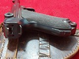 WWI 1915 DWM German Luger pistol All matching Serial numbers 9mm with holster - 5 of 10