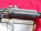 WWI 1915 DWM German Luger pistol All matching Serial numbers 9mm with holster - 6 of 10