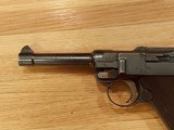 WWI 1915 DWM German Luger pistol All matching Serial numbers 9mm with holster - 9 of 10